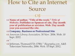 mla powerpoint for th th beginning research how to cite an internet