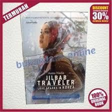 novel jilbab traveler love sparks in