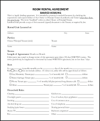 Room Rental Contract Simple Room Rental Agreement Form Free Hotel Contract Sample