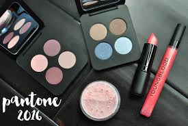 new year new makeup beauty inspiration from pantone 2016 with youngblood cosmetics