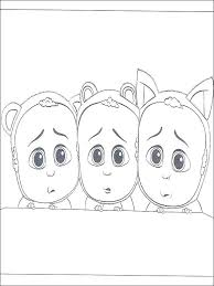 Boss Baby Coloring Pages To Print Page 3 Minions Printable