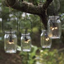solar string lights. Interesting Lights Glass Mason Jar Solar String Lights Intended