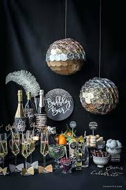 Decorative Disco Ball Amazing New Years Eve Centerpieces Champagne Bar And Disco Ball Decorations