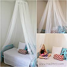 Diy Bed Canopy Craftaholics Anonymousar How To Make A Bed Canopy