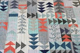 FITF: flying geese gone wild | Film in the Fridge & I was inspired by this mini quilt from the Purl Bee. I like how the geese  are flying in all directions, and I love how they've played with the  different ... Adamdwight.com