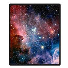 Galaxy Pattern Impressive Amazon Space Throw Blanket By Goodbath Galaxy Universe Star