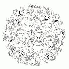 25 Zoeken Halloween Spelletjes Voor Volwassenen Kleurplaat Mandala