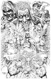 Batman Coloring Pages Villians