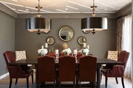 Red And Gray Dining Room Contemporary Dining Room Artistic Enchanting Red Dining Rooms Collection