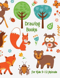 by dartan creations drawing books for kids 9 12 s 8 5 x 11 120 unlined blank pages for unguided doodling drawing sketching writing