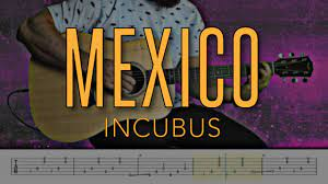 Mexico - Incubus |HD Guitar Tutorial With Tabs - YouTube