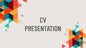 Resume Powerpoint Presentation My Creative Resume Free Presentation Template For Google