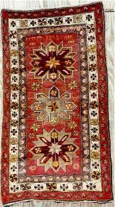 caucasian rug dated 1959