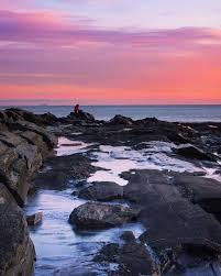 Two Lights State Park Gorgeous Sunrise At Two Lights State Park In Maine Maine