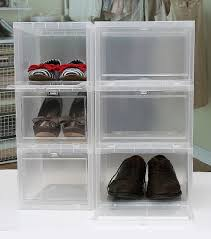 full size of archaicawful stackable shoe storage picture design our transpa box has front opening which