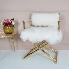 mongolian fur chair mongolian fur chair