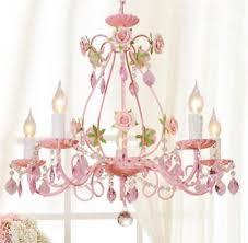 ceramic pink rose flower chandelier ceiling fixture light crystal pendant lamp