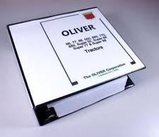 oliver tractor manual oliver 66 77 88 550 660 770 880 tractor service repair manual shop book overhaul