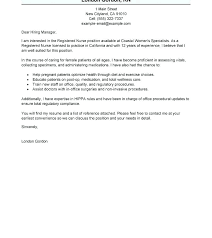 Graduate Cover Letter Examples Cover Letter Sample For Nursing New Grad Cover Letter Sample Cover