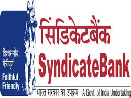Syndicate Bank Syndicate Bank Recruitment 2018 For Housing Loan Counsellor