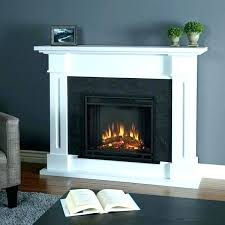 large white electric fireplace antique mantel package in big lots