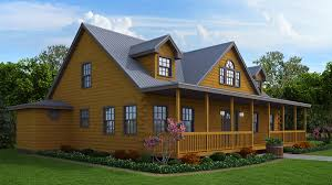 a log cabin dream floor plan the white springs features a grand kitchen open to