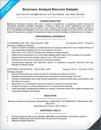 Business Analyst Resume Sample Gorgeous Business Analyst Resume Samples Awesome Sas Resume Sample Igreba