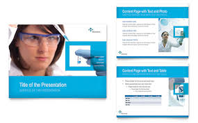 Science Chemistry Powerpoint Presentation Template Design