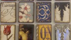 Decorative Tiles To Hang Sid Dickens Memory Blocks How the Decorative Tiles Are Made and 4