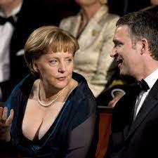 Große Oper: Als Bundeskanzlerin Angela ...