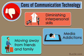 an overview of the overall impact of technology on communication