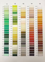 Isacord Color Chart 25 Pack Of Isacord Thread Kit Your Choice New In Wrapper