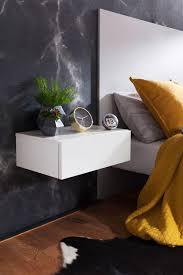 Finebuy Nachtkonsole Night Für Wandmontage 46x15x30cm Nachttisch