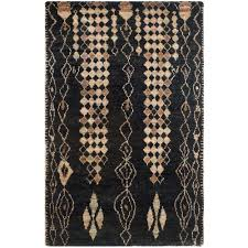 safavieh bohemian black beige 5 ft x 8 ft area rug