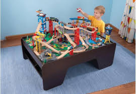 find more kidkraft super highway train set and table great ride around town pc condition