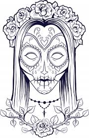 Small Picture Coloring Pages Of Sugar Skulls Donald And Gang Coloring Page 13328