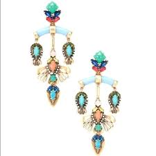 stella and dot chandelier earrings nib dot chandelier earrings stella and dot lily chandelier earrings