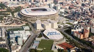 Camp Nou Stadium Seating Chart Building Barcelona How The Technology Behind The Nou Camp
