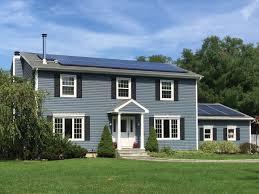 Light Blue Vinyl Siding Harbor Blue Siding Blue Siding Colonial House Exteriors