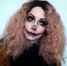cute creepy scarecrow makeup fx scary pretty costume ideas scarecrow makeup pretty costume