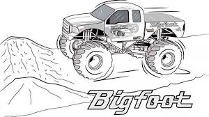 Small Picture 20 Free Printable Monster Truck Coloring Pages EverFreeColoringcom