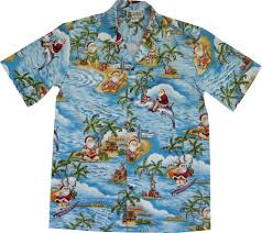 Fun Hawaiian Christmas Shirts for Men and Women