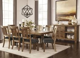 tamilo gray brown rectangular extendable dining room set from ashley d714 45 coleman furniture
