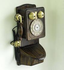 china retro antique country wall phone