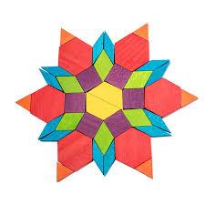 Pattern Blocks Mesmerizing Mideer Geometric Pattern Blocks 48 pcs Jolly B Kids