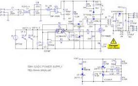 power supply and power control circuit diagrams circuit images 12 volt dc power supply circuit smps