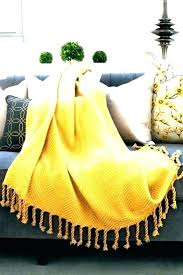 Mustard Yellow Throw Blanket Delectable Mustard Yellow Blanket Throw Mustard Yellow Thumbnail Thumbnail