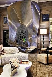 Show Interior Designs House Awesome A Monumental Ron Arad Fireplace Screen In A Living Room By Ingrao