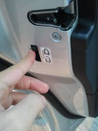 car door lock button. Imagine There Is A Child In The Back Seat (where Lock Usually Resides) And He Accidently Unlocks Car By Simply Pressing Button. Th Door Button