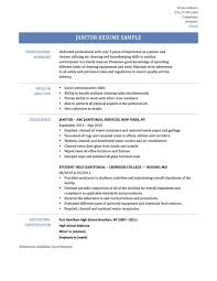 Janitor Resume Sample School Custodian Job Description for Resume Download Janitor Resume 21